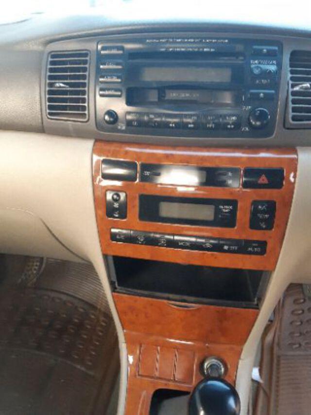 Interior Corolla  White